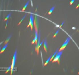 foto de destello de luz