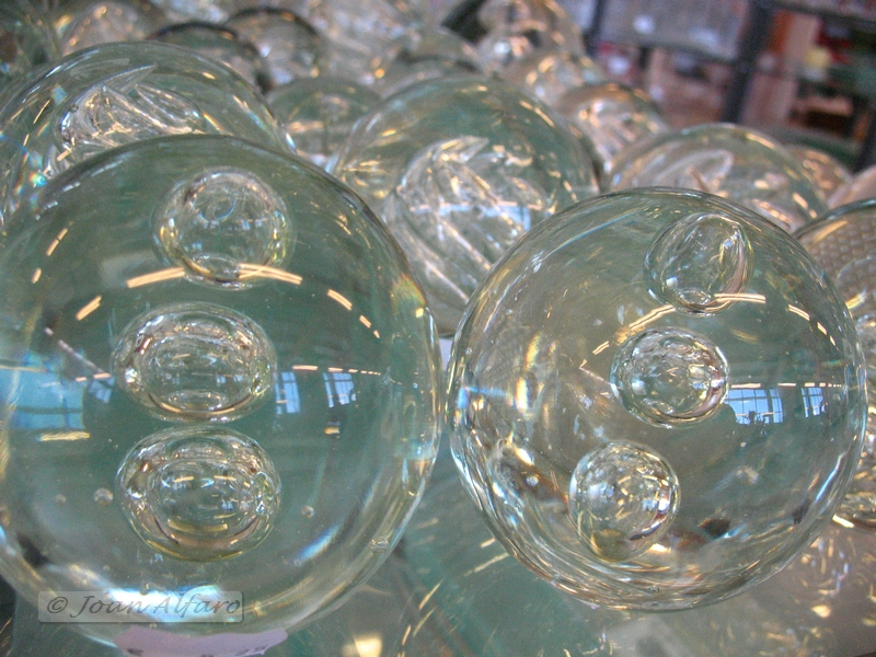 Foto de esfera de cristal