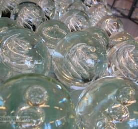 Foto de esfera de vidrio
